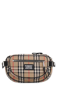 Cannon vintage check belt bag, Beltbag Burberry man