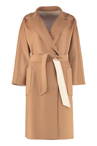 Reversible wool coat, Double Breasted Weekend Max Mara woman