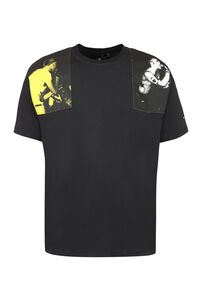 Raf Simons x Fred Perry - Patch detail cotton t-shirt, Short sleeve t-shirts Fred Perry man