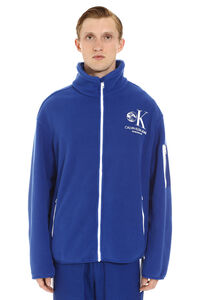 High collar fleece, Zip through CALVIN KLEIN JEANS EST. 1978 man