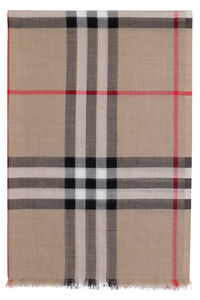 "Check motif scarf, ""This year, your holiday season will be truly phenomenal "" Burberry man"