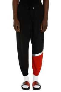 Color blocking track-pants, Track Pants Marcelo Burlon County of Milan man