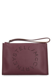 Pochette piatta in ecopelle, Clutch Stella McCartney woman