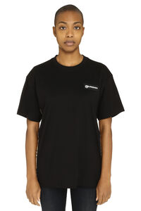 Crew-neck cotton T-shirt, T-shirts Burberry woman