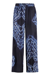 Setay printed silk pants, Wide leg pants Parosh woman