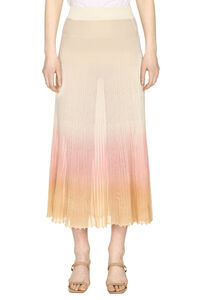 Gonna in maglia a coste, Gonne maxi Jacquemus woman