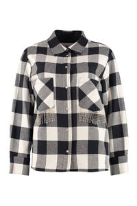 Gingham overshirt, Casual Jackets Woolrich woman