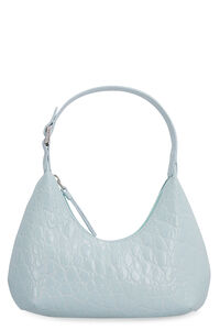 Baby Amber croco-print leather bag, Top handle BY FAR woman