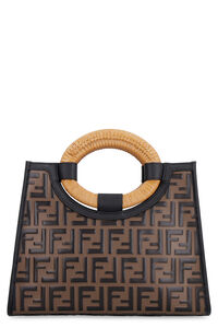 Runway smooth leather tote bag, Top handle Fendi woman