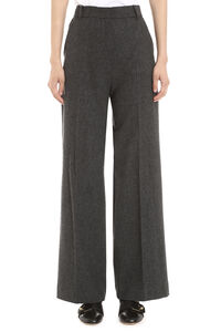 Calais stretch wool tailored trousers, Trousers suits Weekend Max Mara woman