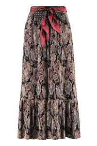 Ladybeetle printed pleated skirt, Printed skirts Zimmermann woman