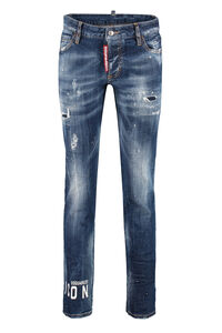 Jennifer 5-pocket jeans, Cropped Jeans Dsquared2 woman