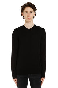 Virgin wool pullover, Crew necks sweaters Dolce & Gabbana man