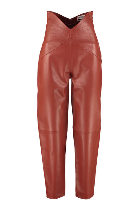 Leather trousers, Leather pants The Attico woman