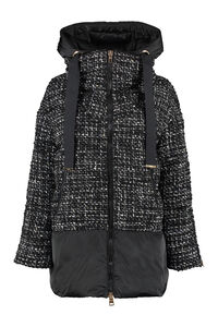 Padded jacket with zip closure, Down Jackets Herno woman