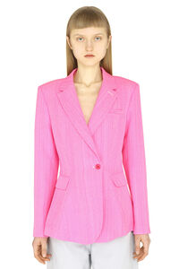 Single-breasted slim fit blazer, Blazers Jacquemus woman