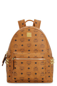 Stark backpack in Visetos with studs, Backpack MCM woman