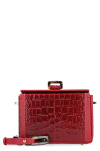 Cerea Crocodile print leather bag, Clutch Nico Giani woman