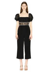 Culotte pants jumpsuit, Evening jumpsuits Self-Portrait woman