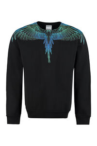 Cotton crew-neck sweatshirt, Sweatshirts Marcelo Burlon County of Milan man