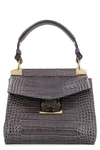Mystic crocodile effect leather, Top handle Givenchy woman