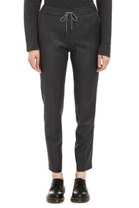 Wool tapered-fit trousers, Tapered pants Fabiana Filippi woman