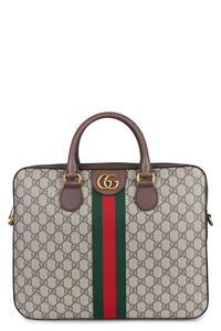 Ophidia GG supreme fabric briefcase, Briefcases Gucci man