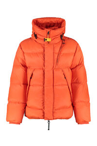 Cloud zip and snap button fastening down jacket, Down jackets Parajumpers man