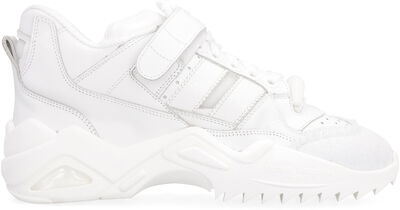 Retro Fit leather sneakers