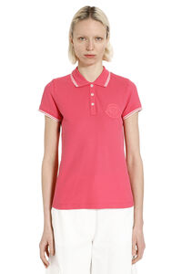 Cotton piqué polo shirt, Polo shirts Moncler woman