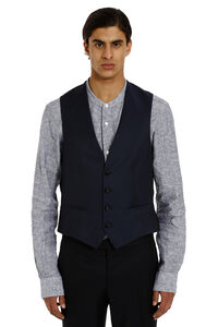 Mohair and wool vest, Single breasted blazers Z Zegna man