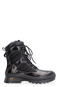 Leather lace-up boots, Lace-up boots MCQ man