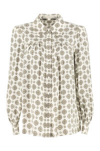 Printed twill shirt, Shirts MICHAEL MICHAEL KORS woman