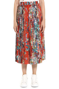 Midori printed pleated skirt, Printed skirts Golden Goose woman