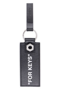 Leather keyring, Keyrings Off-White man