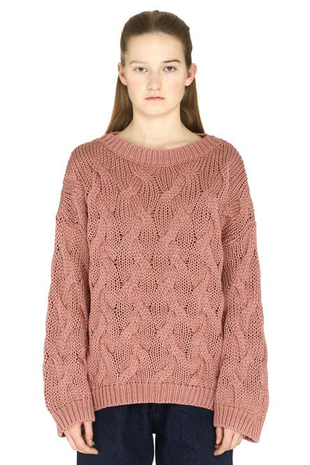Cable knit sweater, Crew neck sweaters Brunello Cucinelli woman