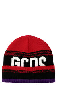 Ribbed knit beanie, Hat GCDS woman
