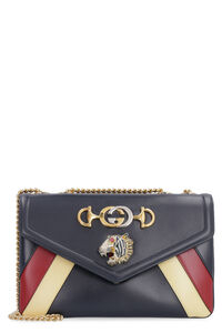 Rajah leather shoulder bag, Shoulderbag Gucci woman