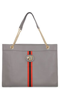 Rajah leather tote bag, Tote bags Gucci woman