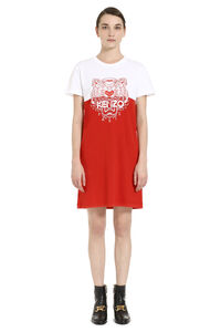 Printed T-shirt dress, Mini dresses Kenzo woman
