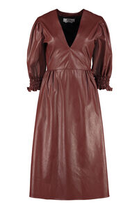 Faux leather dress, Knee Lenght Dresses MSGM woman