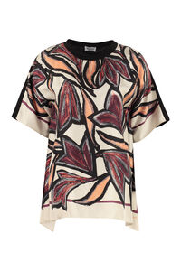 Printed silk top, Printed tops Salvatore Ferragamo woman