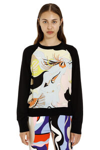 Wool crew-neck pullover, Patterned sweaters Emilio Pucci woman