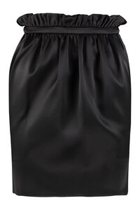 Gathered skirt, Mini skirts Versace woman