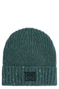 Knitted beanie, Hats Pinko woman