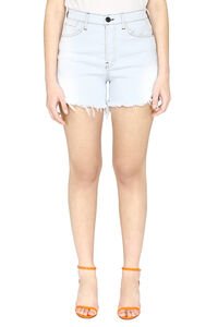 Shorts in denim a vita alta, Shorts 3x1 woman