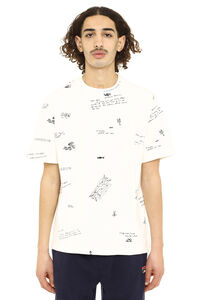 Golden printed cotton t-shirt, Short sleeve t-shirts Golden Goose man