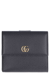 GG detail leather wallet, Wallets Gucci woman
