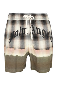 Shorts in misto lino, Bermuda Palm Angels man