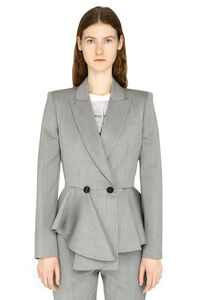 Double-breast wool blazer, Blazers Alexander McQueen woman